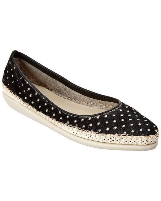 The Flexx - Black The Torri Leather Slip-on Flat - Lyst