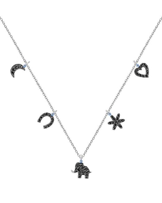 Gabi Rielle - Metallic Silver Cz Necklace - Lyst