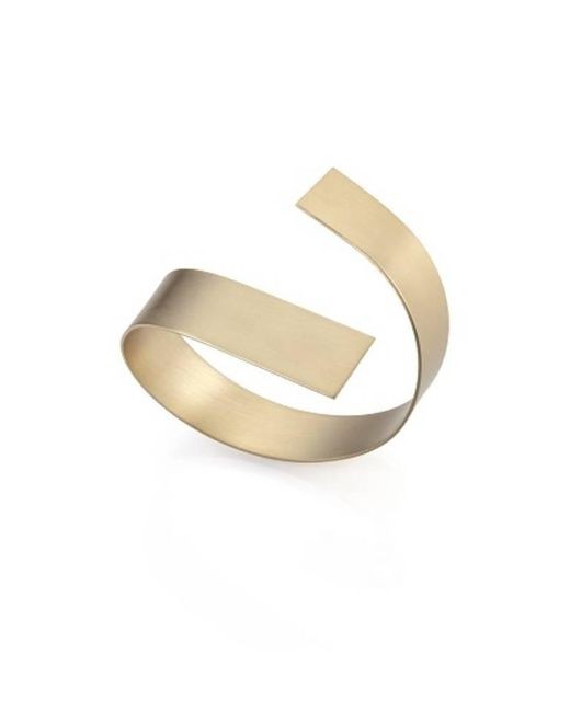 Noritamy | Metallic Large Obi Bracelet | Lyst