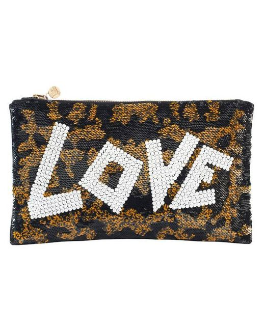 Forest Of Chintz | Black Jungle Love Clutch Bag | Lyst