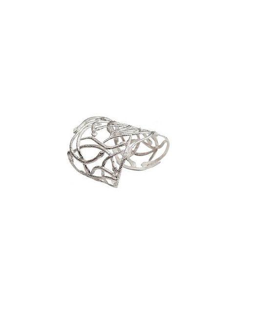 Bernard Delettrez | Metallic Snakes Silver Cuff | Lyst