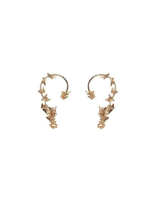 Bernard Delettrez | Metallic Butterflies Gold Ear Cuffs | Lyst