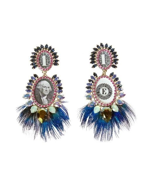 Bijoux De Famille | Blue Bird Earrings | Lyst