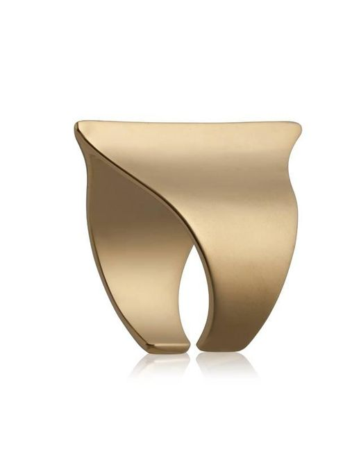 Yael Salomon | Metallic Sharp 08 Gold Ring | Lyst