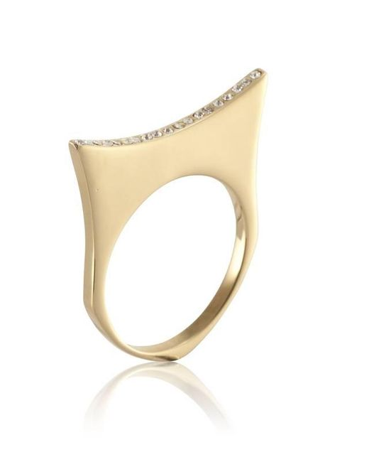 Yael Salomon | Metallic Greta 07 Gold Ring | Lyst