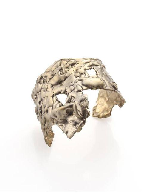 Noritamy | Metallic Orosi Tarnished Brass Cuff Bracelet | Lyst