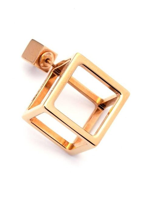 Caterina Zangrando | Metallic Jason Gold Mono Earring | Lyst