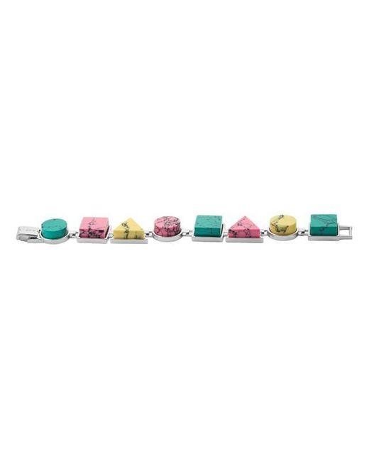 Eshvi   Multicolor Back To School Marble Link Bracelet   Lyst