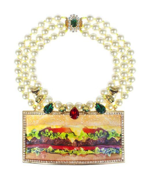 Bijoux De Famille | Metallic Deluxe Plastron Necklace | Lyst