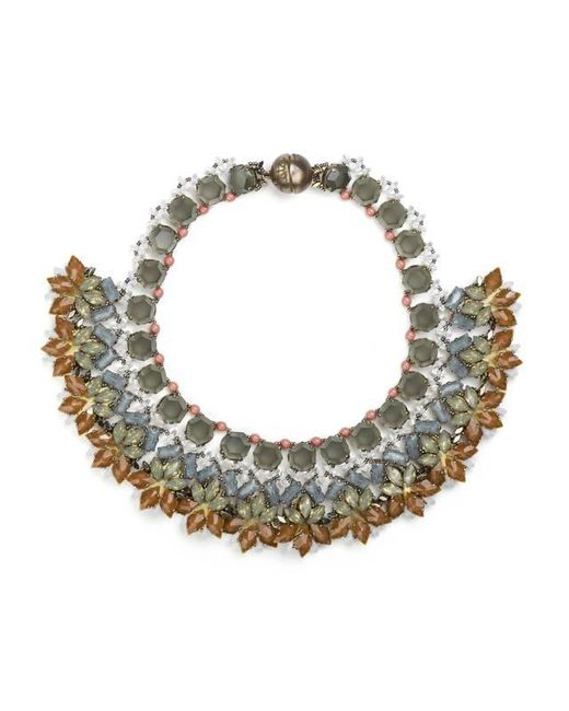 Tataborello | Green Multicolored Summer Place Choker Necklace 19 | Lyst