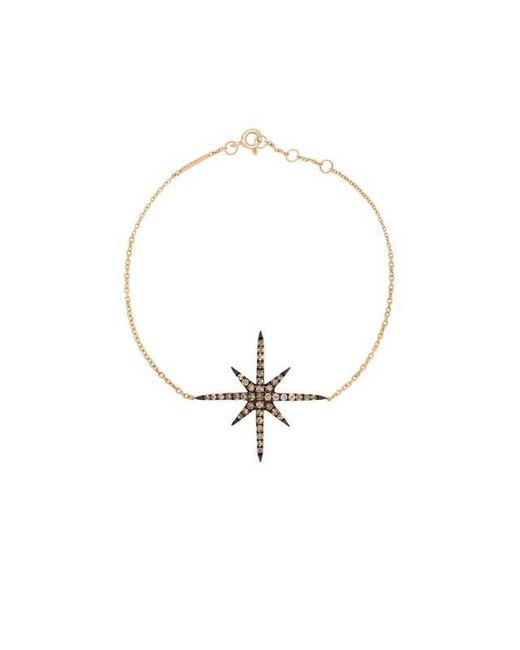 Christina Debs   Metallic Starlight Gold And Diamond Bracelet   Lyst
