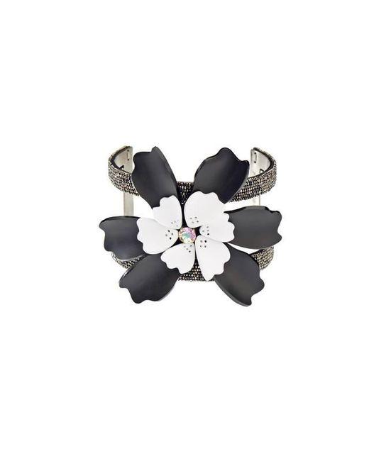 Forest Of Chintz | Black Single Flower Cuff | Lyst