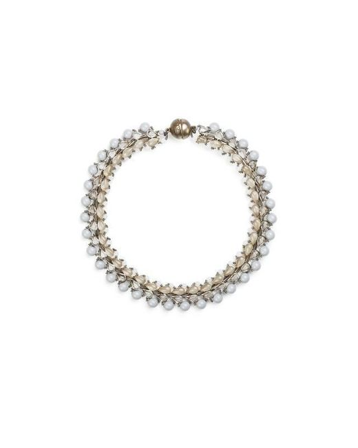 Tataborello - White Summer Place Choker Necklace 01 - Lyst
