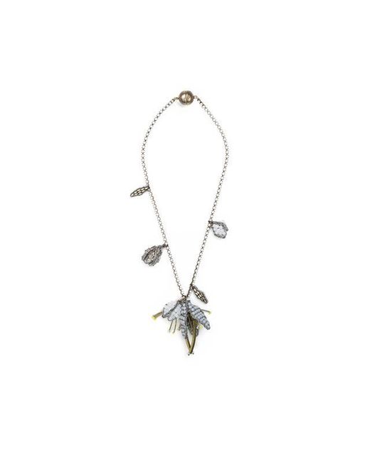 Tataborello | White Summer Place Beaded Floral Pendant Necklace 23 | Lyst