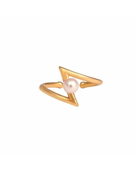 Leivan Kash | Multicolor Occhiu Gold Midi Ring | Lyst