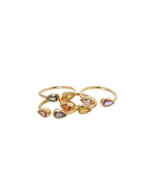 Madstone | Metallic Open Sapphire Rings | Lyst