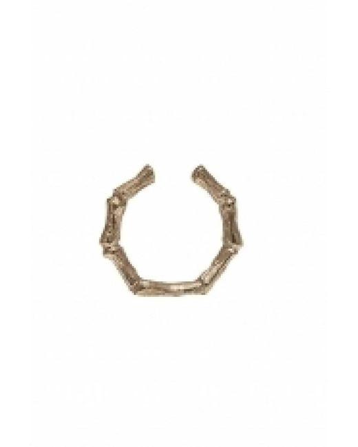 Bernard Delettrez | Metallic Pink Bronze Bamboo Ring | Lyst