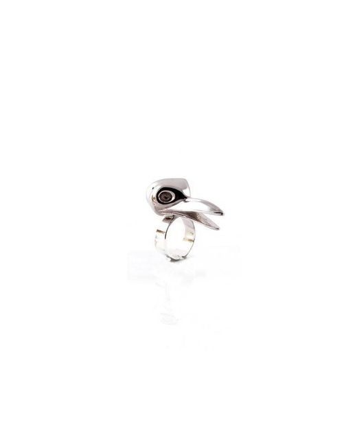 De La Forge | Metallic Corneille Black Ring | Lyst