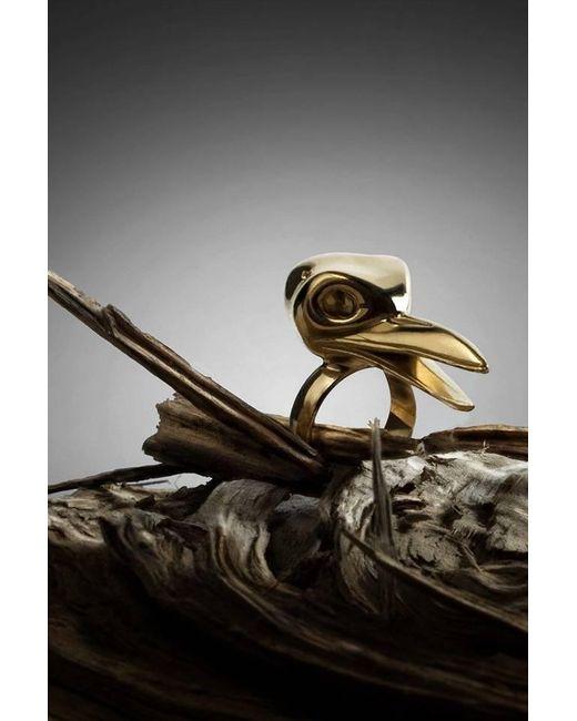 De La Forge   Metallic Corneille Gold Ring   Lyst