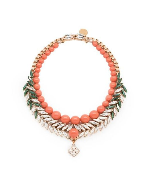 Ellen Conde | Multicolor Bettie Coral Necklace | Lyst