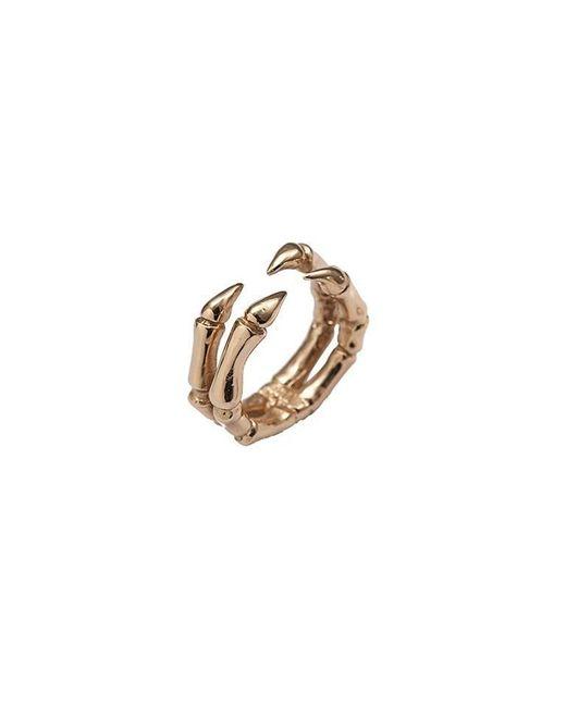 Bernard Delettrez | Metallic Parrot Claw Bronze Ring | Lyst