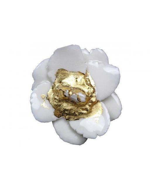 Plakinger | Metallic Flower Shaped Ring | Lyst