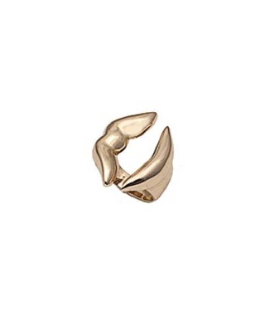 Bernard Delettrez - Metallic Lips Bronze Ring - Lyst