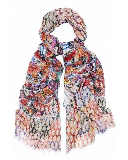 Kekkai | Multicolor Camouflage Cashmere Blend Scarf | Lyst
