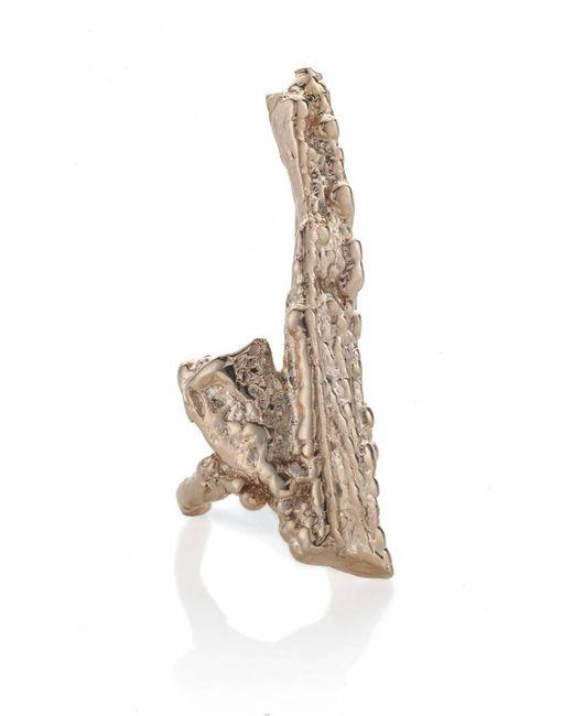 Noritamy - Metallic Bagana Rose Gold Ring - Lyst