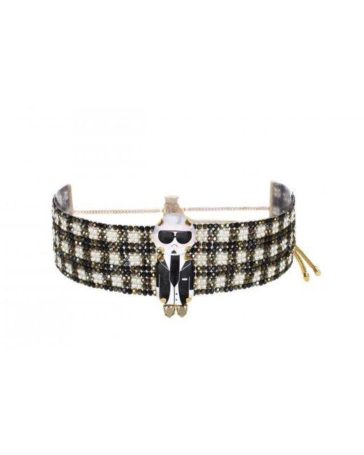 "Bijoux De Famille   Multicolor ""karl"" Pearl Choker Necklace   Lyst"