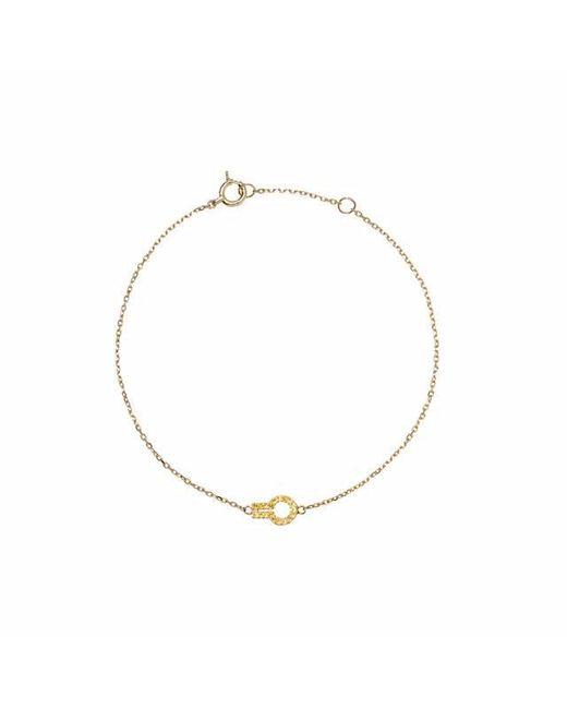 Liza Belachew | Metallic Magic Window Yellow Gold And Yellow Sapphire Bracelet | Lyst