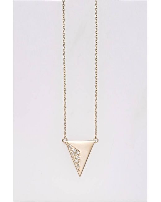 Liza Belachew | Metallic Share The Art Diamond No4 Necklace | Lyst