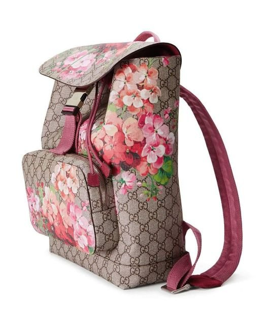 ebb81ab0ed8 ... Gucci - Multicolor GG Blooms Backpack - Lyst ...