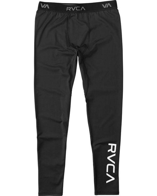 RVCA | Black Va Sport Compression Pant for Men | Lyst