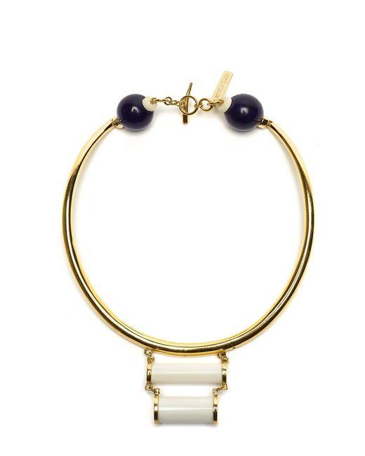 Lizzie Fortunato | Metallic Ancient Ruins Collar Necklace | Lyst