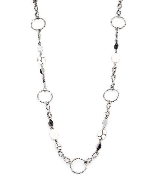 John Hardy - Metallic Kali Menari Sterling Silver Station Necklace - Lyst