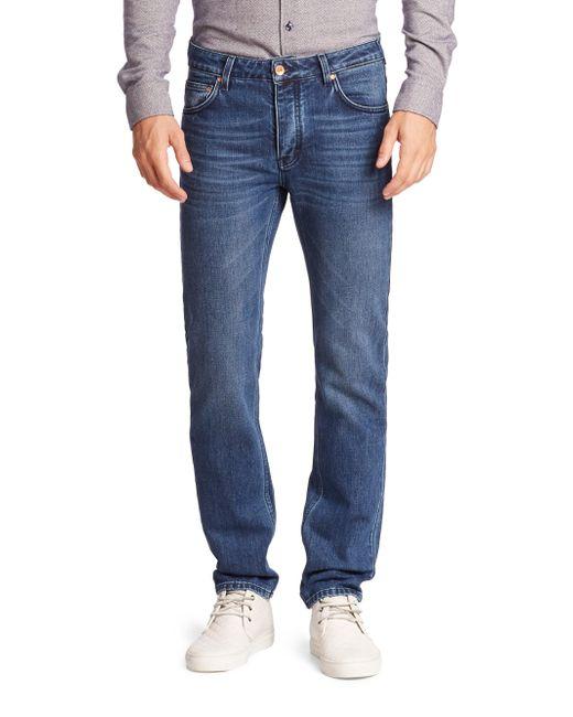 Wesc - Black Faded Whiskered Jeans for Men - Lyst