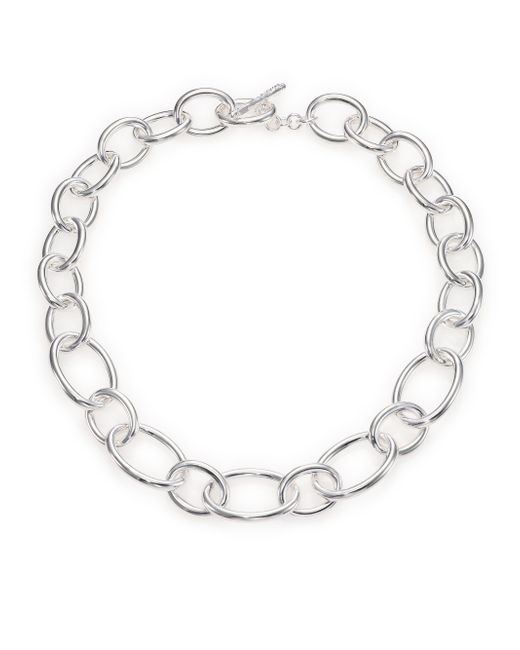 Ippolita | Metallic Glamazon Sterling Silver Oval Link Necklace | Lyst