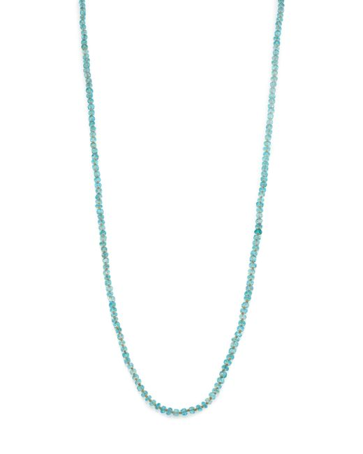 Lena Skadegard   Blue Apatite & 18k Yellow Gold Beaded Strand Necklace   Lyst