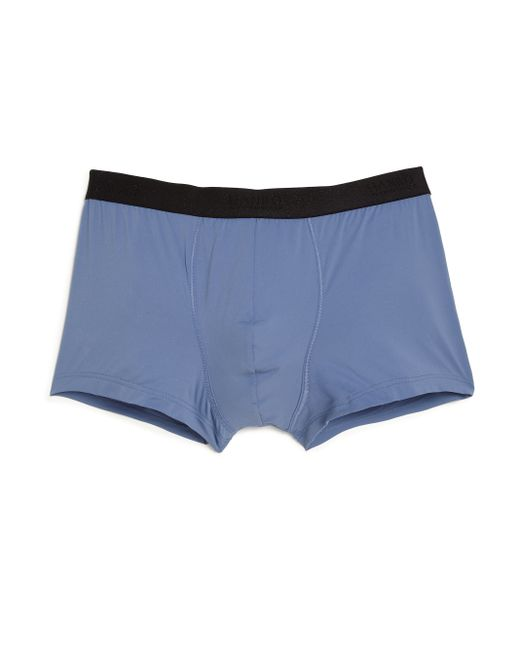 Hanro | Blue Micro Touch Boxer Briefs for Men | Lyst