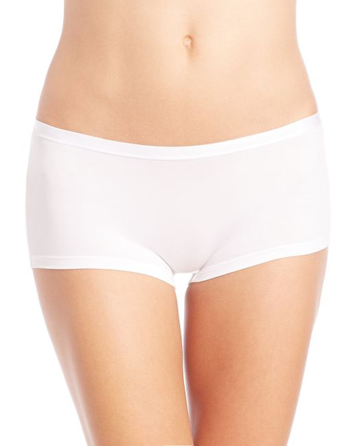 Hanro | White Soft Touch Boyshorts | Lyst