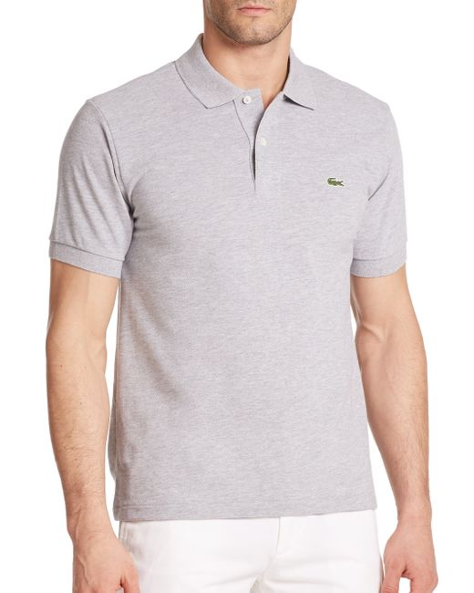 Lacoste | Metallic Classic Cotton Pique Polo for Men | Lyst
