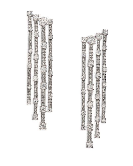 Adriana Orsini | Metallic Decadence Cascade Drop Earrings | Lyst
