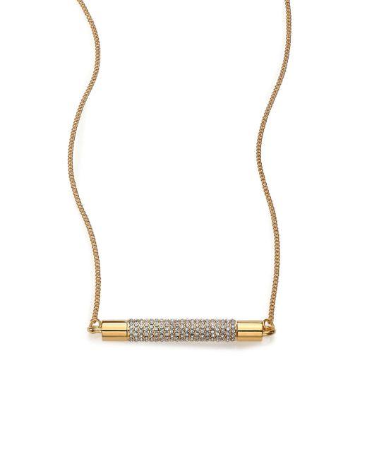 Vita Fede | Metallic Mia Turnable Crystal Pendant Necklace | Lyst