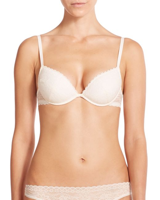 La Perla | Natural Rosa Push-up Bra | Lyst