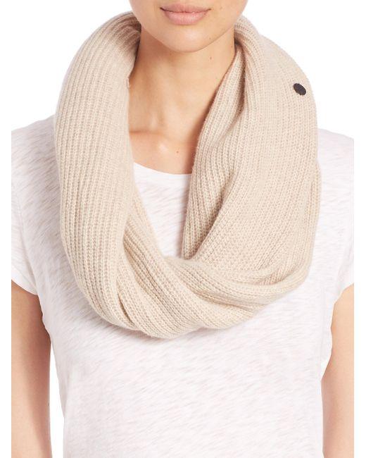 Rag & Bone | Natural Cynthia Cashmere & Wool Circle Scarf | Lyst