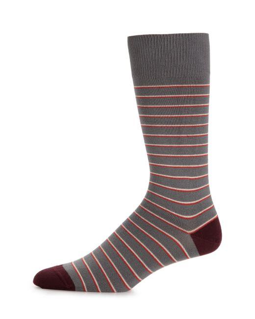 Paul Smith | Purple Striped Socks for Men | Lyst