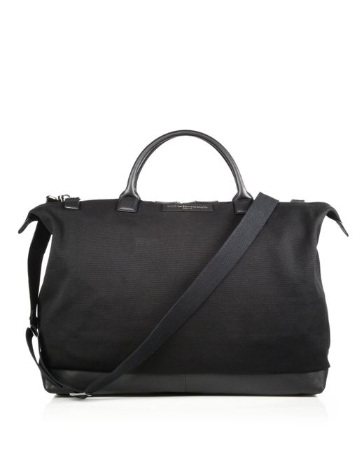 Want Les Essentiels De La Vie | Black Hartsfield Weekender Tote for Men | Lyst