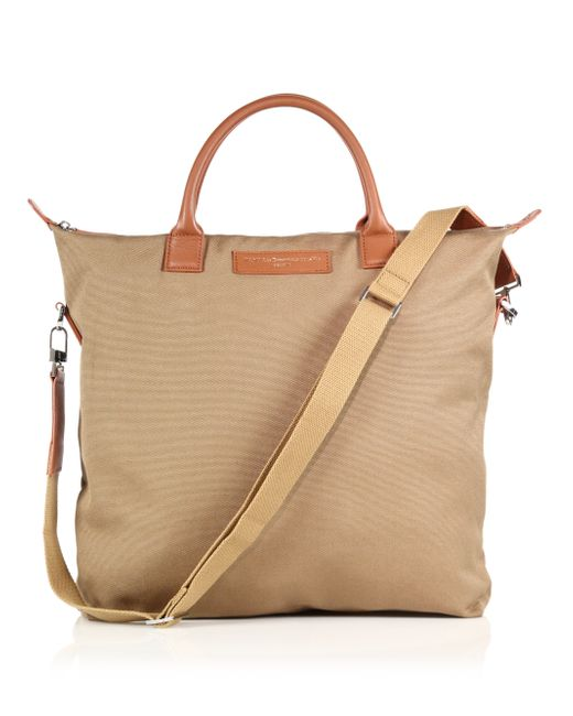 Want Les Essentiels De La Vie | Natural O'hare Canvas & Leather Tote for Men | Lyst