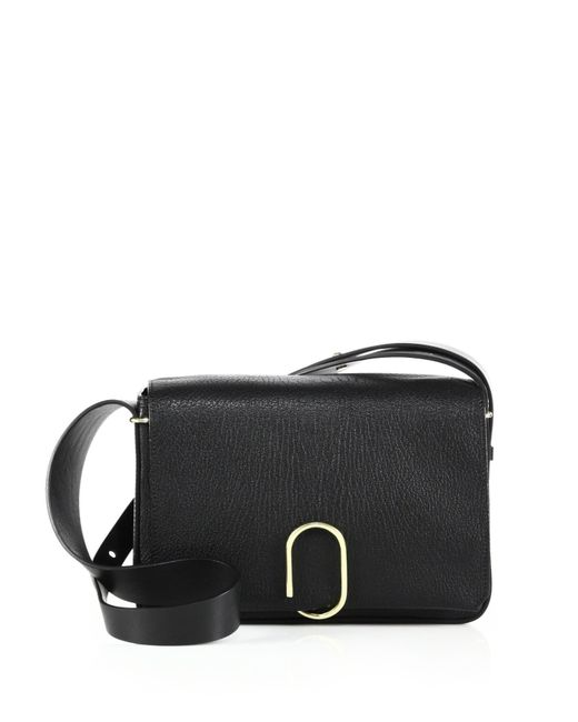 3.1 Phillip Lim | Black Alix Leather Shoulder Bag | Lyst